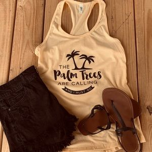 Tops - Palm Trees Tank